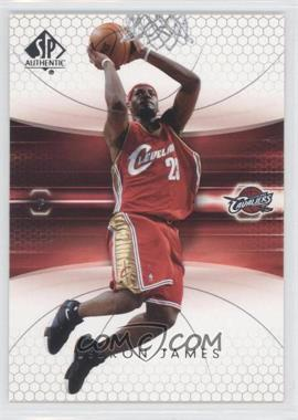 2004-05 SP Authentic #14 - Lebron James