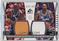 Shaquille O'Neal, Karl Malone /100