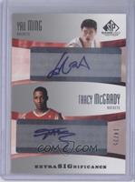 Yao Ming, Tracy McGrady /25