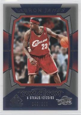 2004-05 SP Game Used #145 - Lebron James /999