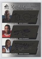 Kevin Garnett, Tracy McGrady, Dwight Howard /25