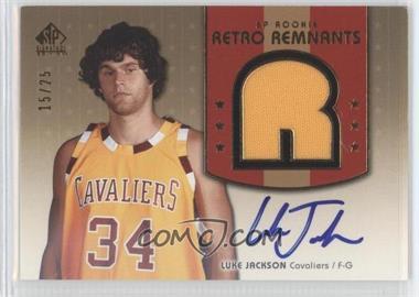 2004-05 SP Signature Edition Gold #109 - Luke Jackson /25