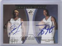J.R. Smith, Dwight Howard /100