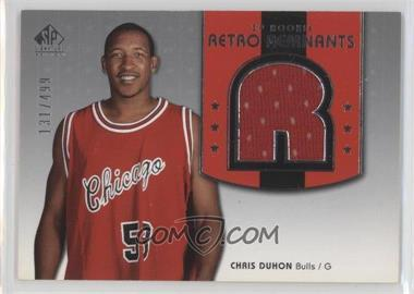 2004-05 SP Signature Edition #126 - Chris Duhon /499