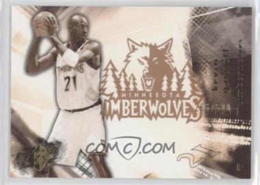2004-05 SPx - [Base] - Throwback Variation #50 - Kevin Garnett /500