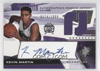 Autographed Rookie Jersey - Kevin Martin /1999