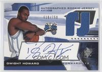 Autographed Rookie Jersey - Dwight Howard /750