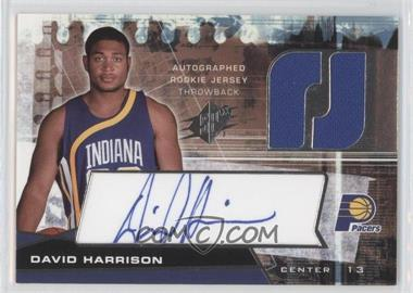 2004-05 SPx Throwback Variation #132 - David Harrison