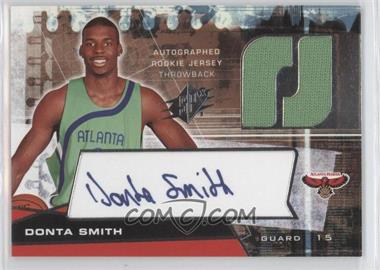 2004-05 SPx Throwback Variation #138 - Donta Smith