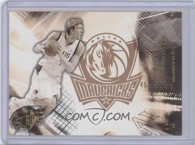 2004-05 SPx Throwback Variation #16 - Dirk Nowitzki /500