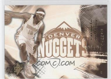 2004-05 SPx Throwback Variation #19 - Carmelo Anthony /500
