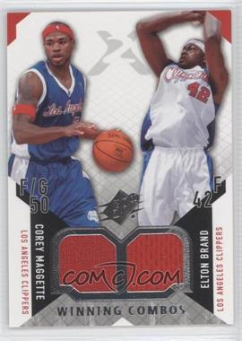 2004-05 SPx Winning Combos #WC-MB - Corey Maggette, Elton Brand