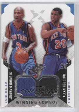 2004-05 SPx Winning Combos #WC-MH - Stephon Marbury, Allan Houston