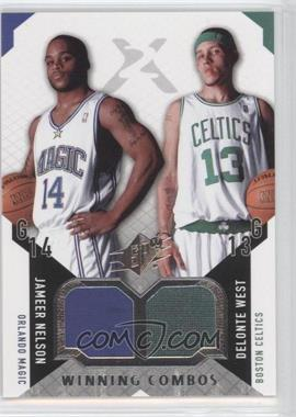 2004-05 SPx Winning Combos #WC-NW - Jameer Nelson, Delonte West