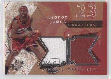 2004-05 SPx Winning Materials #WM-LJ - Lebron James