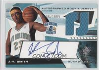 Autographed Rookie Jersey - J.R. Smith /1999