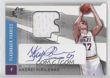 2004-05 SPx #166 - Flashback Fabrics - Andrei Kirilenko