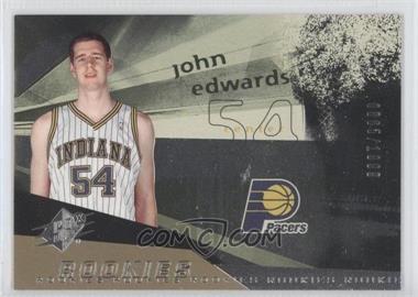 2004-05 SPx #99 - Rookies - John Edwards /1999