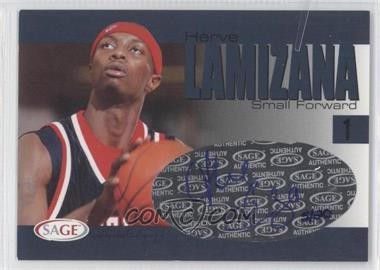 2004-05 Sage Autographed Basketball - Authentic Autograph - Player Proof #A18 - Herve Lamizana