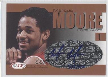 2004-05 Sage Autographed Basketball Authentic Autograph Bronze #A20 - Marcus Moore /550
