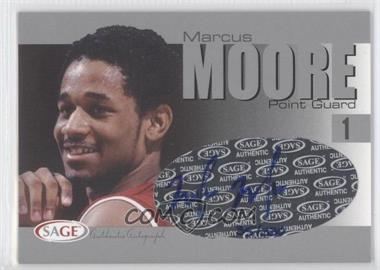 2004-05 Sage Autographed Basketball Authentic Autograph Silver #A20 - Malik Moore /330