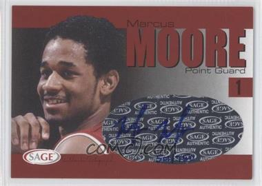 2004-05 Sage Autographed Basketball Authentic Autograph #A20 - Malik Moore /750