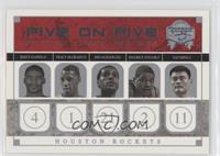 Reece Gaines, Tracy McGrady, Jim Jackson, Maurice Taylor, Yao Ming, Jason Willi…