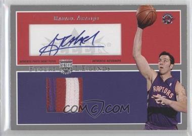 2004-05 Skybox L.E. - Future L.E.gends - Patches Autographs #FLA-RA - Rafael Araujo /25