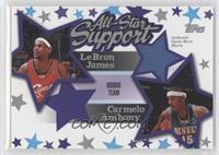 Lebron James, Carmelo Anthony /250