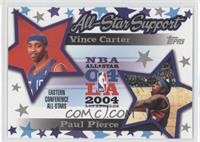 Vince Carter, Paul Pierce