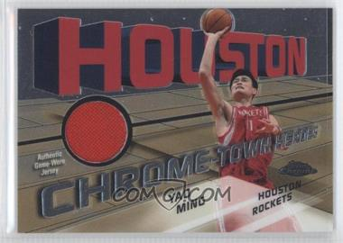 2004-05 Topps Chrome - Chrome-Town Heroes Jerseys - [Memorabilia] #CTH-YM - Yao Ming /467