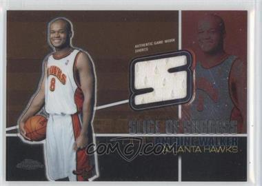 2004-05 Topps Chrome - Slice Of Success #SS-AW - Antoine Walker /900