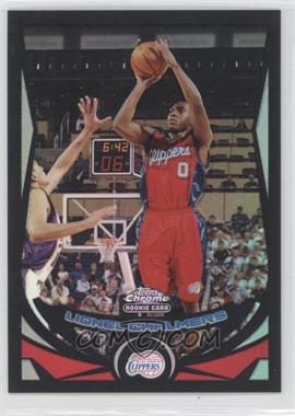 2004-05 Topps Chrome Black Refractor #205 - Lionel Chalmers /500