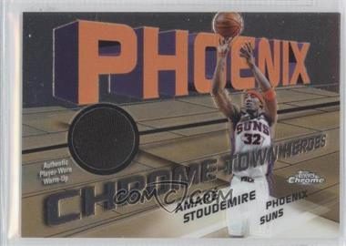 2004-05 Topps Chrome Chrome-Town Heroes Jerseys [Memorabilia] #CTH-AS - Amar'e Stoudemire /885