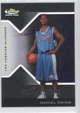 2004-05 Topps Finest - [Base] - Black Refractor #215 - Daniel Ewing /39