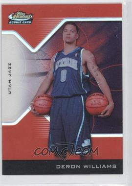 2004-05 Topps Finest - [Base] - Red Refractor #193 - Deron Williams /159