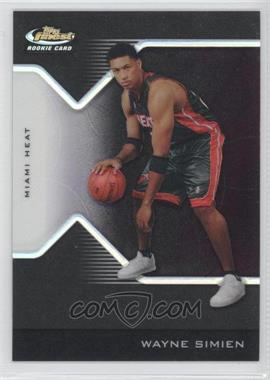 2004-05 Topps Finest Black Refractor #219 - Wayne Simien /39