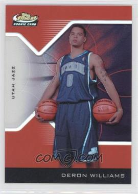 2004-05 Topps Finest Red Refractor #193 - Deron Williams /159