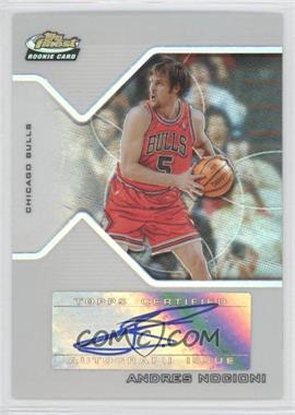 2004-05 Topps Finest Refractor #190 - Andres Nocioni /179