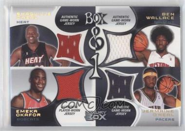 2004-05 Topps Luxury Box - Box & 1 - Main Reserved #BOX-OWOO - Shaquille O'Neal, Ben Wallace, Emeka Okafor, Jermaine O'Neal /30