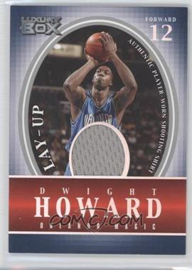 2004-05 Topps Luxury Box - Lay-Up Relics #LU-DH - Dwight Howard /500