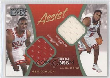 2004-05 Topps Luxury Box Assist Relics Loge Level #AS-GD - [Missing] /75
