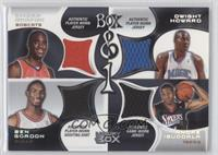 Emeka Okafor, Dwight Howard, Ben Gordon, Andre Iguodala /200