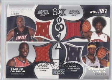 2004-05 Topps Luxury Box Box & 1 #BOX-81 - Shaquille O'Neal, Ben Wallace, Emeka Okafor, Jermaine O'Neal /450