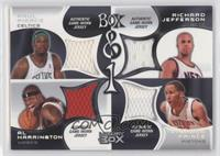 Paul Pierce, Richard Jefferson, Al Harrington, Tayshaun Prince /450