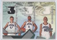 Andrei Kirilenko, Carlos Boozer, Carlos Arroyo /450