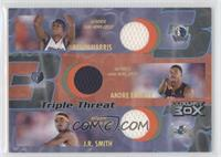 Devin Harris, Andre Emmett, J.R. Smith /75