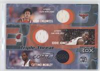 Josh Childress, Cuttino Mobley, Eddie Jones /200