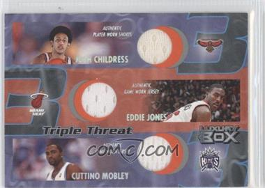 2004-05 Topps Luxury Box Triple Threat Relics #TT-CJM - Josh Childress, Cuttino Mobley /450