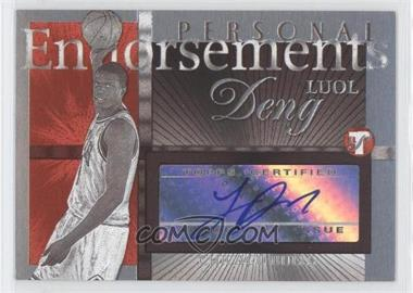 2004-05 Topps Pristine Personal Endorsements #PE-LD - Luol Deng